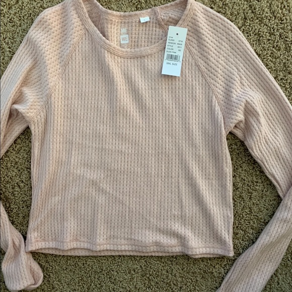 PacSun Tops - Pacsun me to we cropped knit sweater